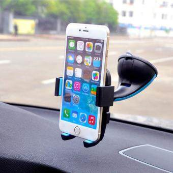 Universal 360? Rotation Automatic Locked Car Phone Holder Bracketstand Windshield Mount for GPS Mobile Phone Holder