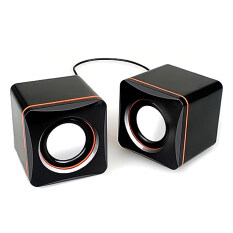 Vococal Mini USB 2.0 Portable Desktop Audio Speaker for Laptop Notebook Desktop Cellphone MP3 MP4 Malaysia