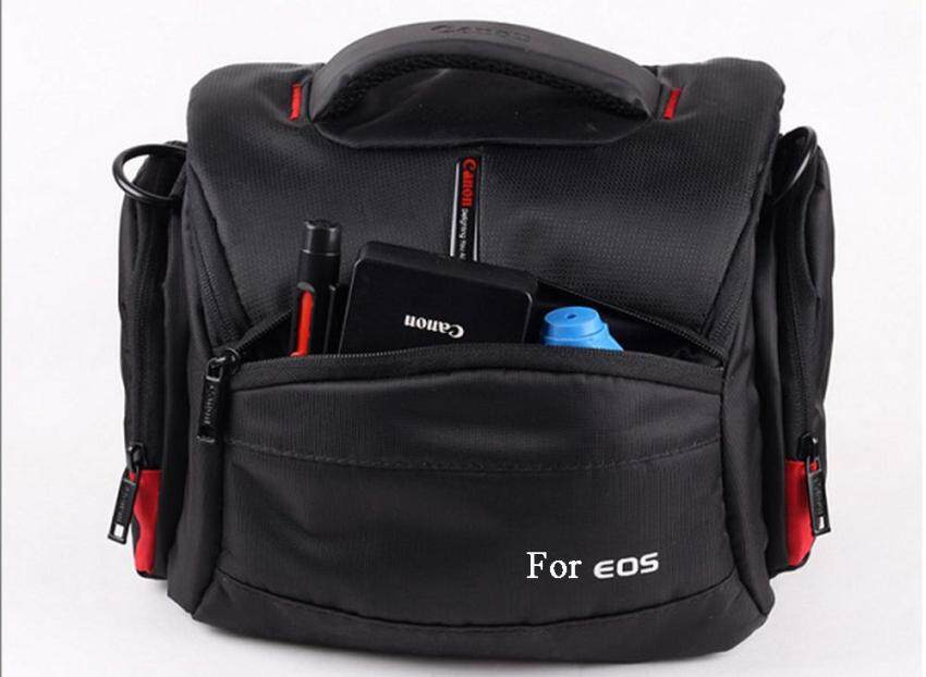 Waterproof Camera Case Bag for Canon EOS DSLR 750D 700D 600D 1100D760D 6D 70D 1200D 550D 60D SX60 t5i t6i 5D3 5D4   - intl
