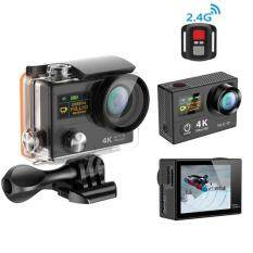Waterproof Sport Camera H3R Ultra 4K HD 2.0 Inch Screen Remote Control BK