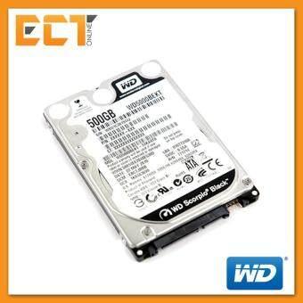 """Western Digital 2.5\"""" 500GB 7200RPM Scorpio Black Internal Sata Hard Disk Drive - WD5000BEKT"""