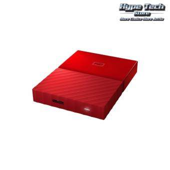 "Harga WESTERN DIGITAL MY PASSPORT 2.5"" 1TB EXT HDD (WDBYNN0010BRD) -RED"