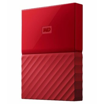 WESTERN DIGITAL WD Shockproof Portable Hard Drive (Red)