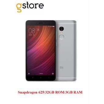 Harga Xiaomi Redmi Note 4 [32GB ROM/3GB RAM/Snapdragon 625] Original Imported Set