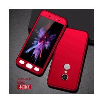 Harga Xiaomi Redmi Note 4 (SNAPDRAGON)/ Note 4x (SNAPDRAGON) Full Covered Matte Case Cover Casing (Red)