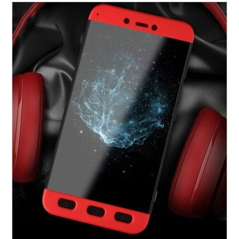 Xiaomi Redmi Note 4 (SNAPDRAGON)/ Note 4x (SNAPDRAGON) GKK 360 Degree Full Covered Matte Case Cover Casing (Red) - 5