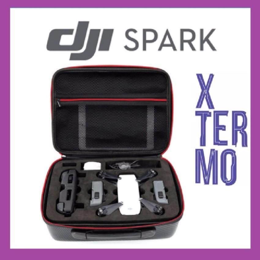 XTERMO DJI SPARK Fly More Combo CARBON FIBRE Portable Bag Case Box Drone Quadcopter Malaysia