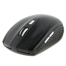 YBC 2.4GHz Wireless Optical Mouse With USB Receiver for PC Laptop Black Malaysia