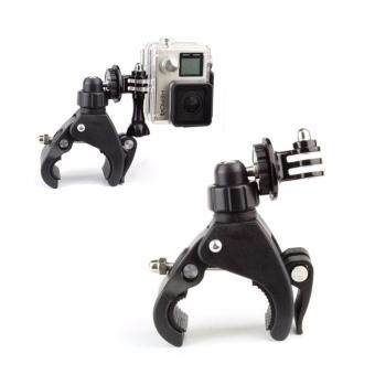 YICOE Quick Clip Bicycle Bike Mount with Tripod Adaptor for Go pro5 4 3 Xiaomi Yi 4k SJCAM SJ4000 EKEN H9 Action Sport CameraAccessories - 4