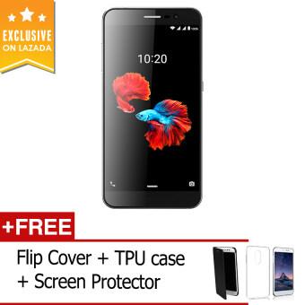 ZTE Blade A910 16GB (Dark Grey) FREE FlipCover+TPUcase+ScreenProtector (Total worth RM 99)