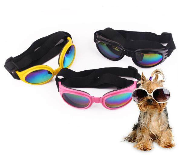 Pet Dog UV Sunglasses Adjustable Sun Glasses Goggles Eye Wear Protection Popular