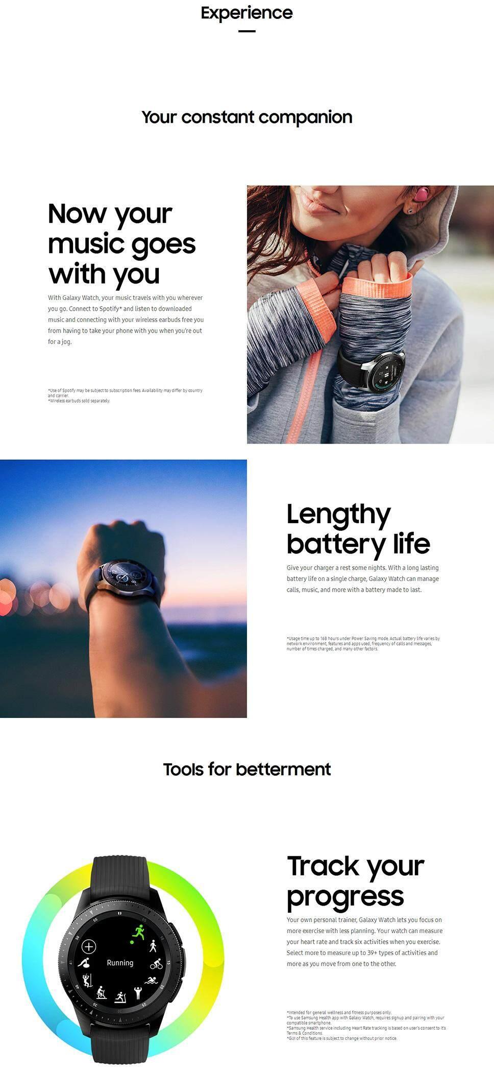 Samsung SM-R800 Galaxy Watch (46mm) Bluetooth - Silver