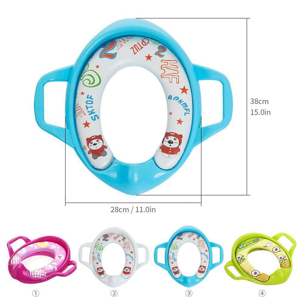 Rose Red Portable Baby Travel Potty Training Toilet Seat Kids Travel Potty Urinal Car Portable Urinal Training Toilet
