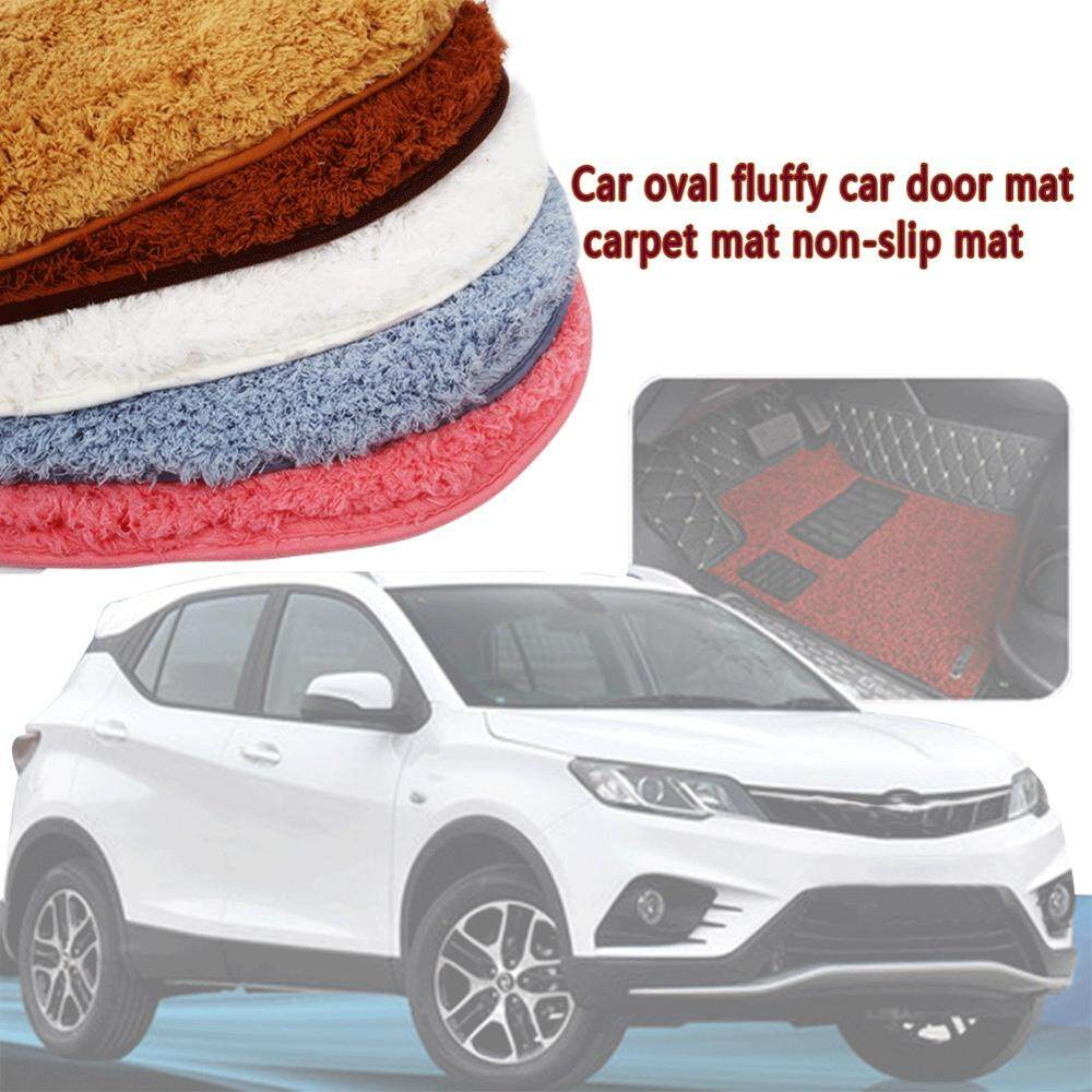 5 Colors Non Slip Car Carpet Car Floor Mat Cover Decoration Durable Door Mat Car Interior Replacement Premium Foot Pad