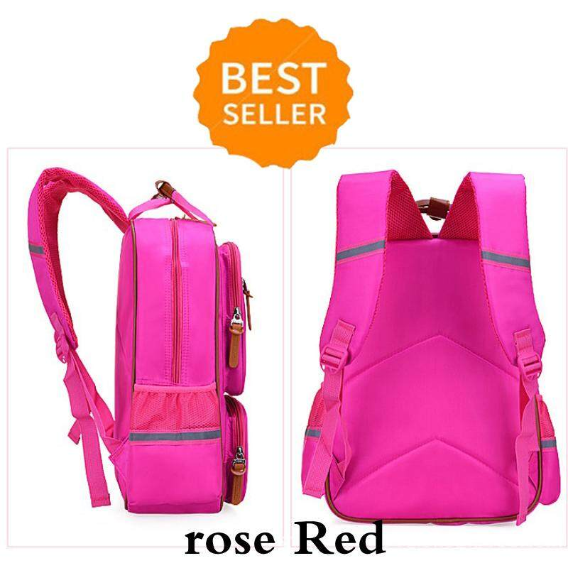 bcf2fc7a62e5 Primary School Backpack Ideal for 1-6 Grade School Students Boys Girls  Daily Use Casual Backpack