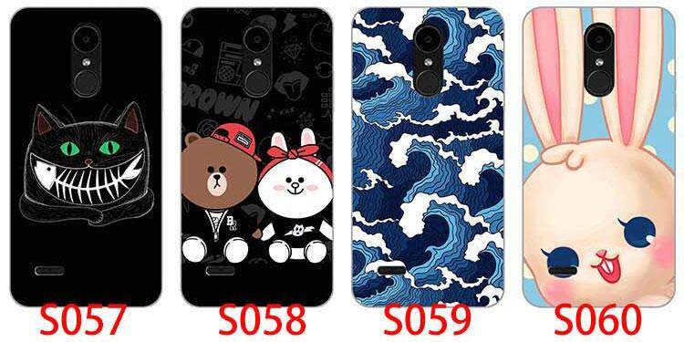 Colorful Painted Hard Plastic Cases For LG K4 2017 X230K X230f X230 Cartoon  Animal Hard Phone Cases Covers Flower Cover Coque