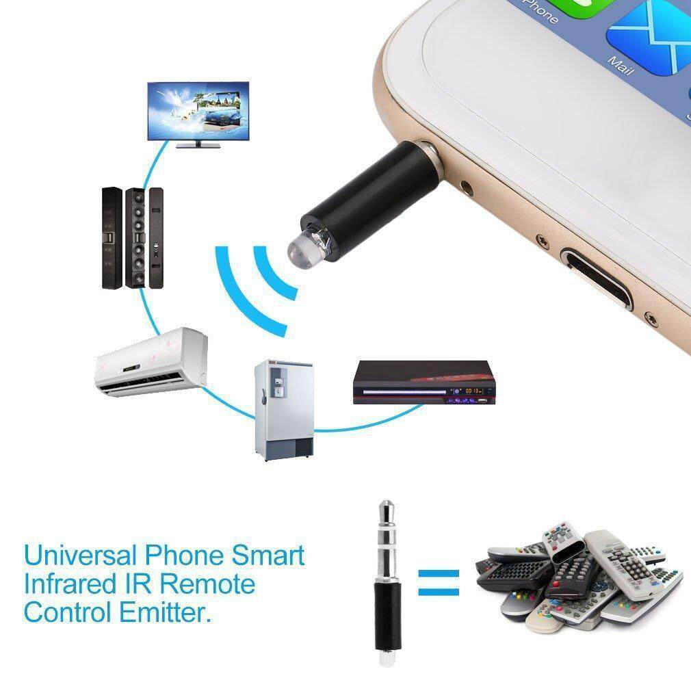 1 x Universal Mobile Phone IR Remote Controller Notes锛? Due to the difference between different monitors, the picture may not