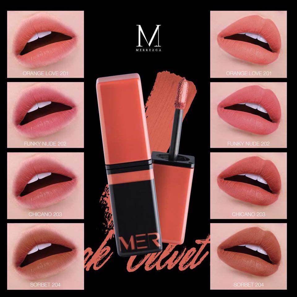 Funky Nude 12ml Lip Velvet Merrez'ca Speak 202