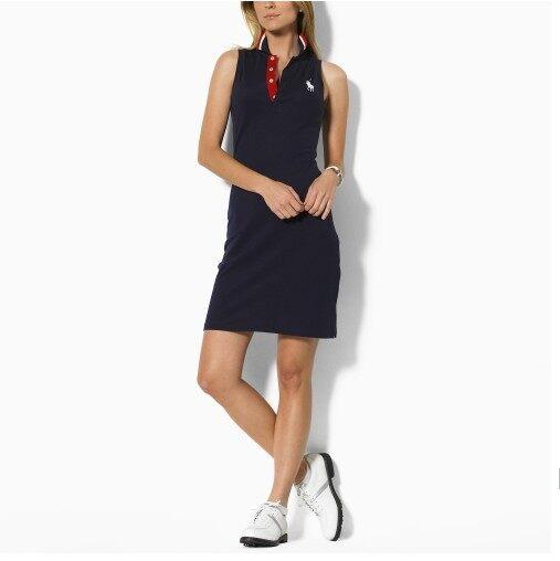 100 Authenticoriginal Ralphˉ Laurenˉ Women S Summer Pony Polo Dress Slim T Shirt Skirt Lazada