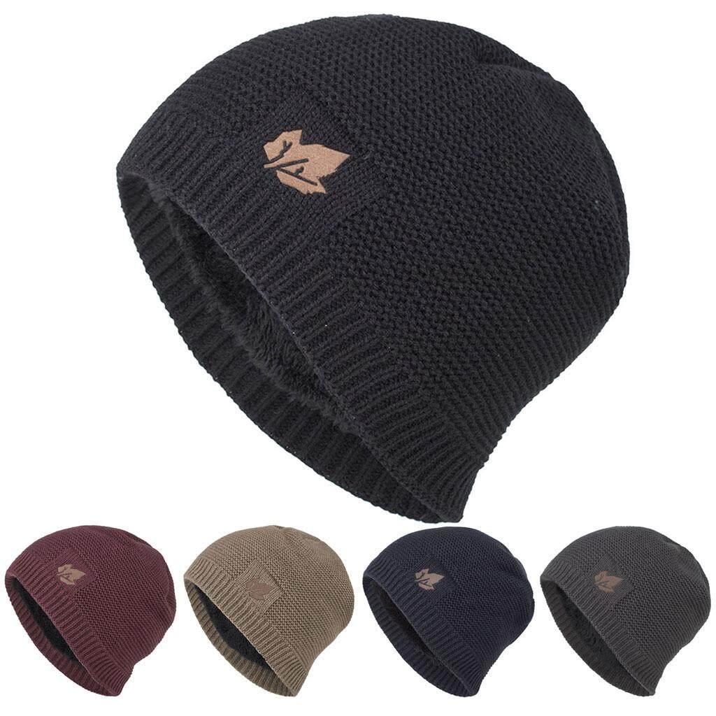 Nirvana Knit Hat Warm Soft Comfortable Warm Winter Beanie Print Cap for Men and Women Black