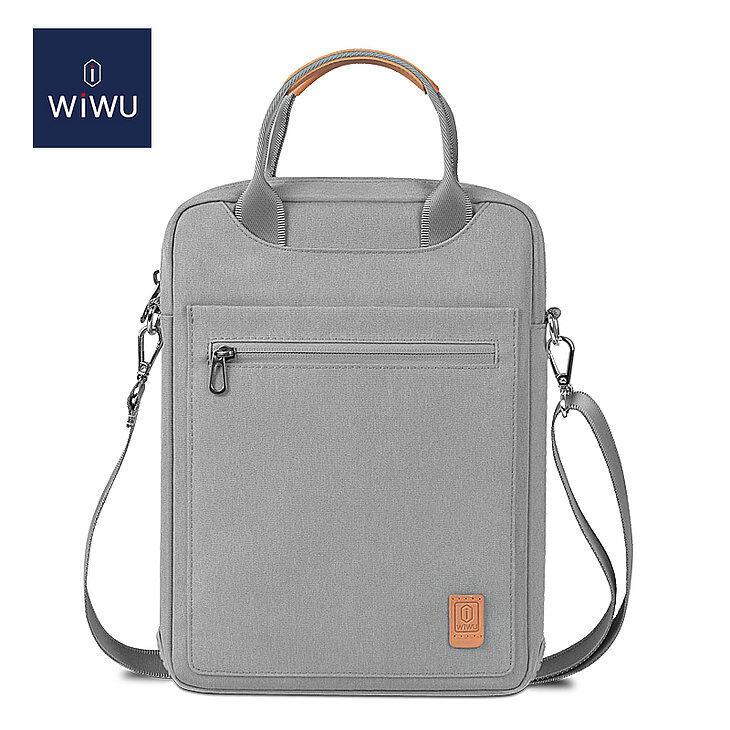 WIWU 12.9 Inch Pioneer Tablet Laptop Bag with Shoulder Strap 7