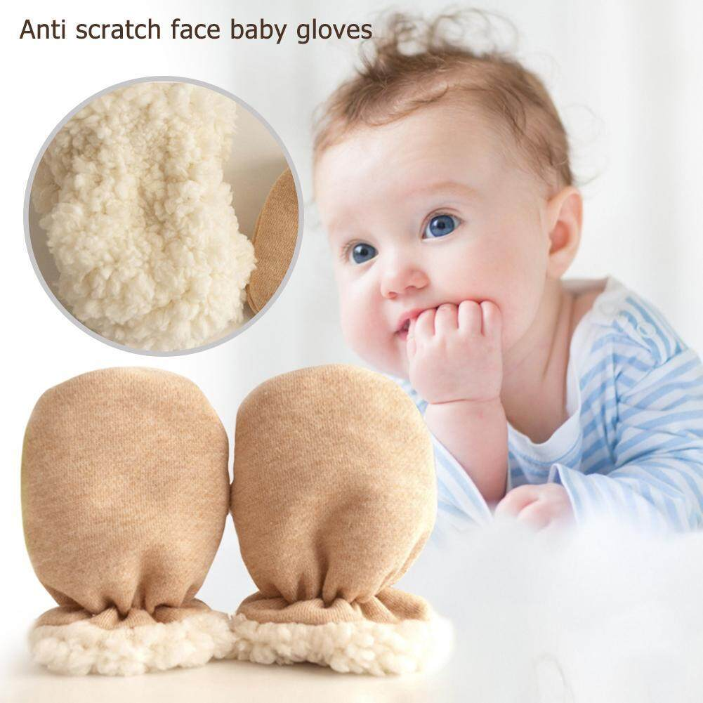 Cotton Winter Mittens For Infant Baby Boys And Girls Newborn Hand Warmer Gloves