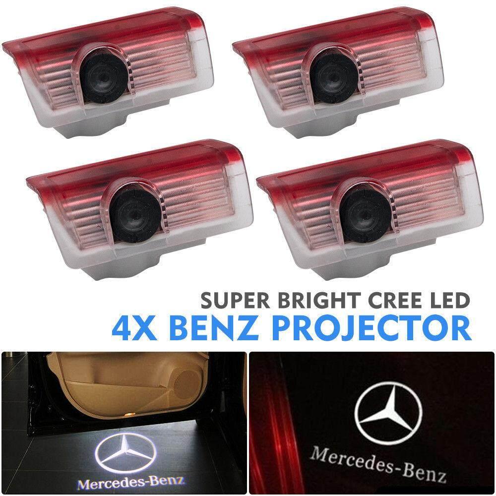 4PCS Car LED Door Logo Projector Light for Mercedes Benz GL450 GL500 GL550  06-13