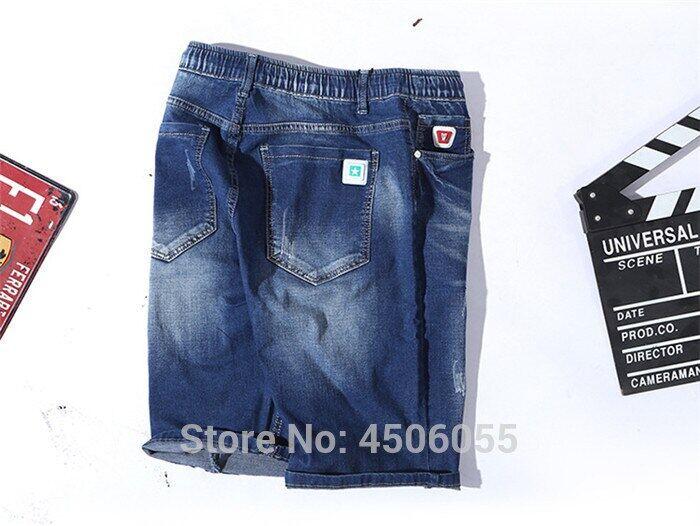 Men Shorts 2020 Summer Half Jeans Loose Denim Casual Ripped Man Short Big Plus Size 4xl 5xl 6xl 150kg Hole Elastic Mens Trousers Lazada Ph