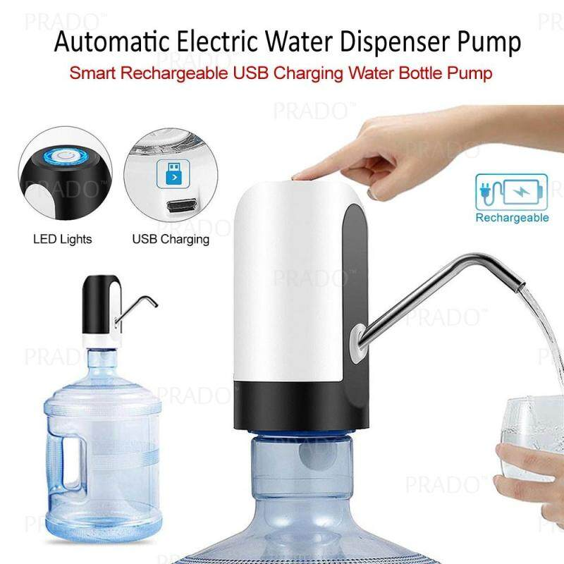 USB Rechargeable Automatic Electric Water Pump Dispenser Drinking Water Bottle p