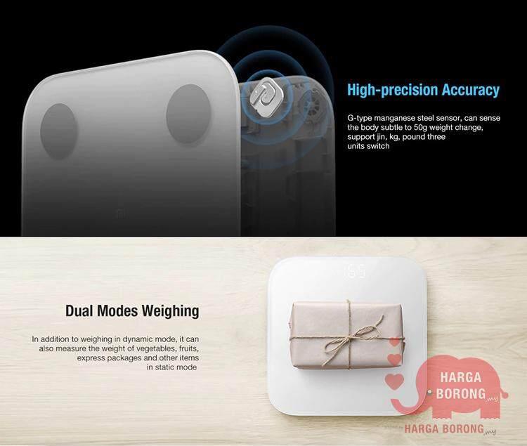 Xiaomi Mi Body Fat Composition Smart Scale 2 Bluetooth 5 0 (13 Test) (2nd  Generation - 2019)