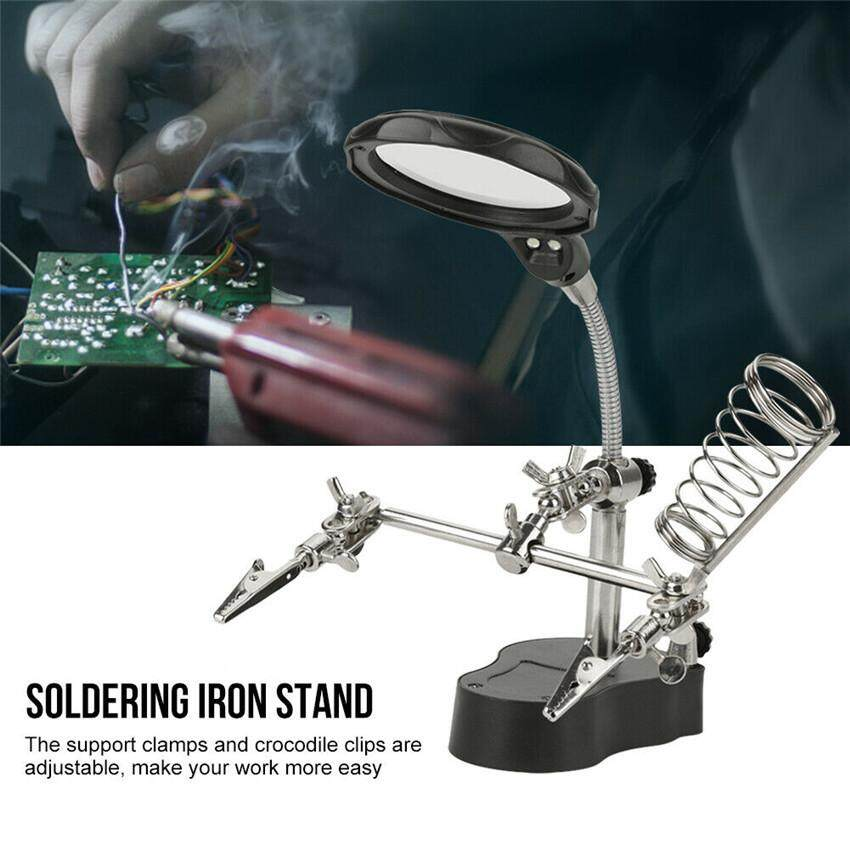65mm Magnifier Led Light Helping Hand