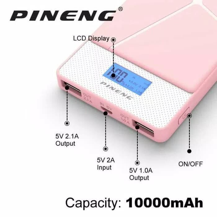GENUINE 100%) PINENG PN983s 10000mAH Lithium Polymer Slim ...