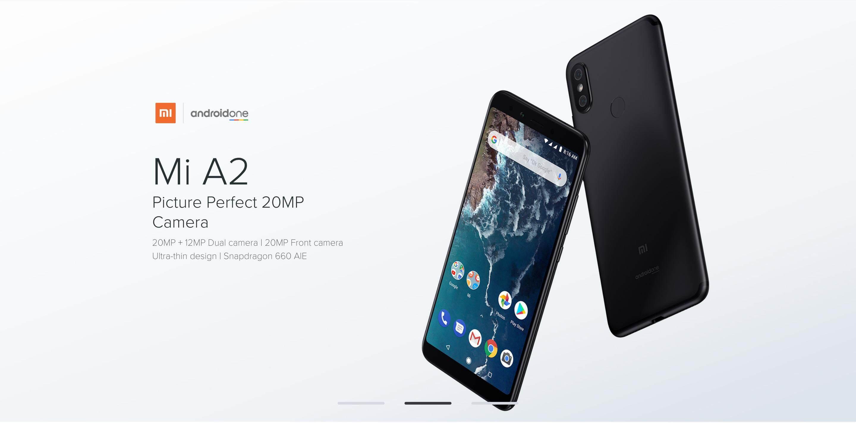 Xiaomi Mi A2 32GB 4GB RAM / 64GB 4GB RAM / 128GB 6GB RAM Global Version  (Imported Set)