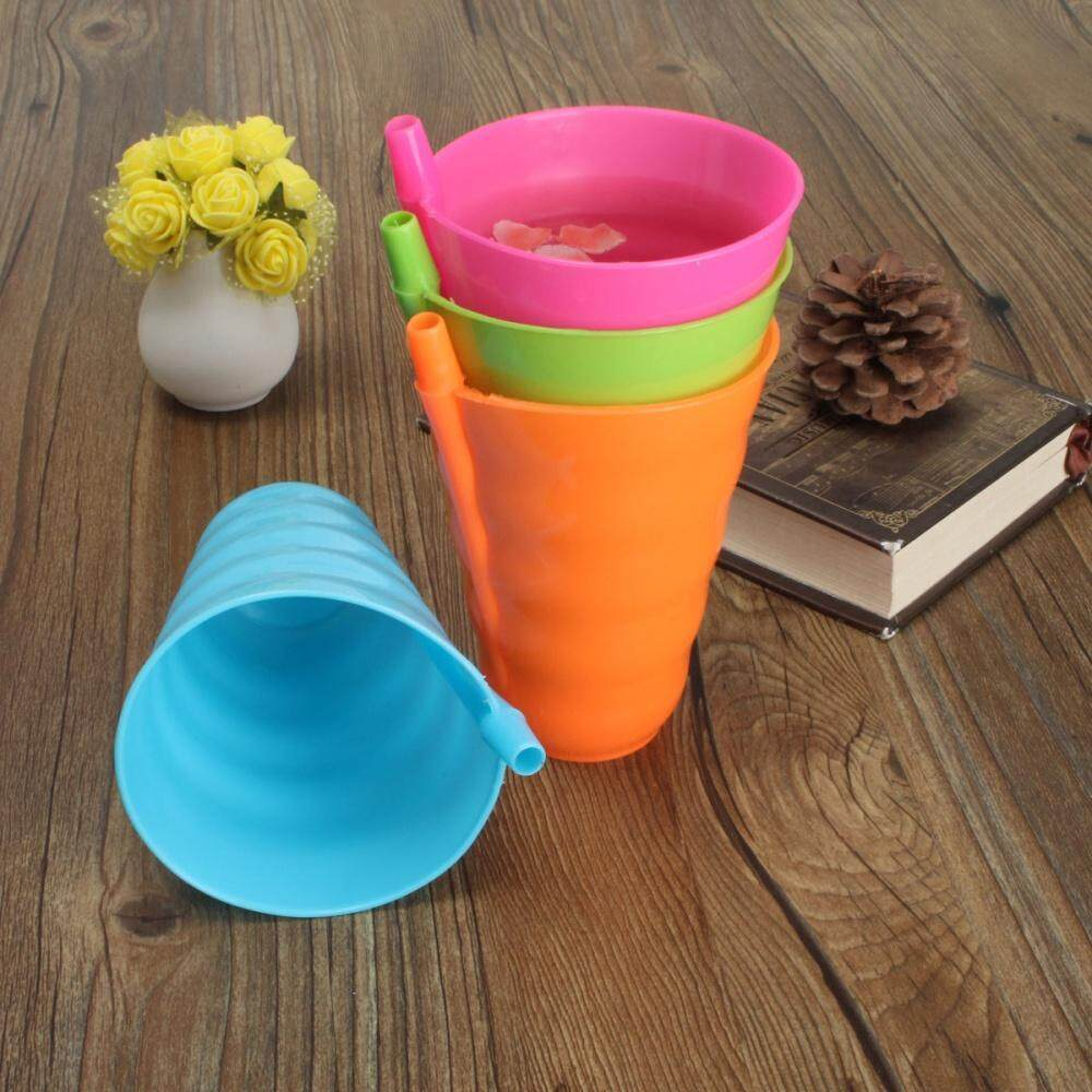 Specification: Material: food-grade plastic. Weight: 25 g. Size: 13cm/5.11inch(high), 8.8cm/3.46inch(wide) Suitable for: fruit juice milk drinking water