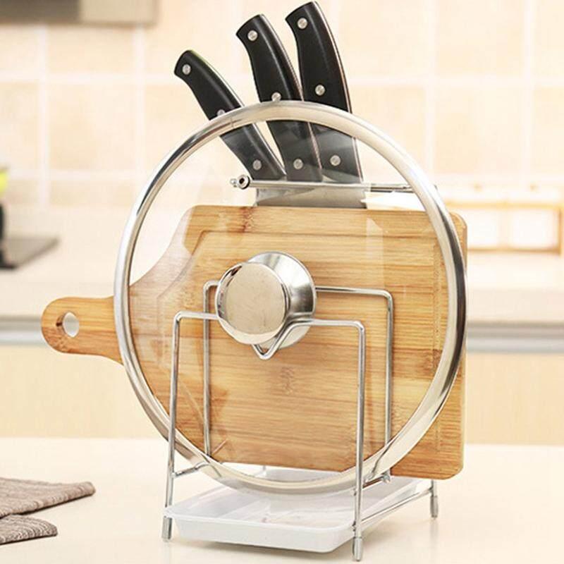 Rack Shelf Cookware Organizer Pot Lid