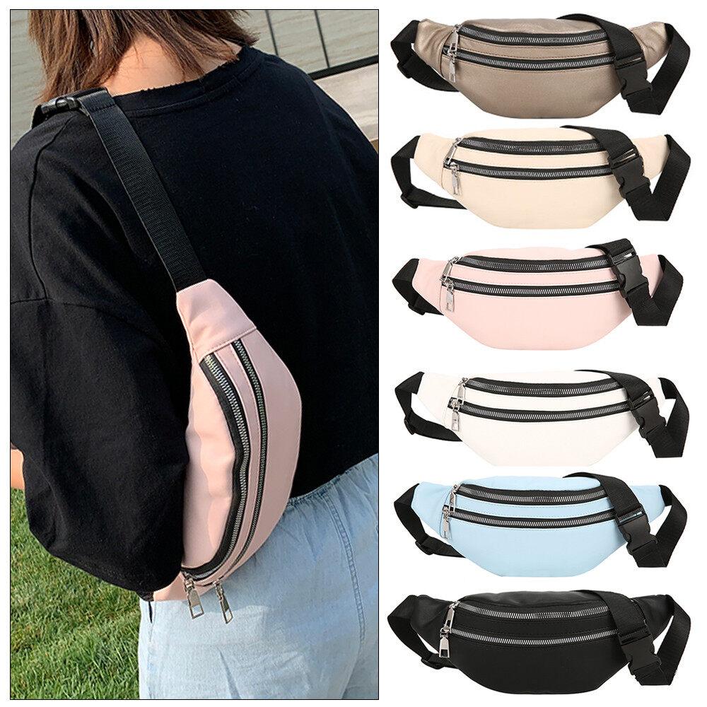 Unisex Sports Hiking Running Belt Waist Bag,Super Lightweight Travel Cross-body Bag Bum Bag Hiking Waist Pack