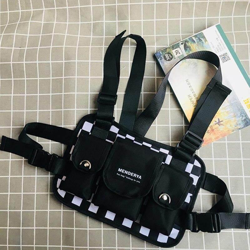 da66c5a95 Item Type: Waist Packs Model Number: 030229. Gender: Men Brand Name:  kovenly. Strap Drop: 105cm. Style: Hip-Hop Material Composition: Nylon
