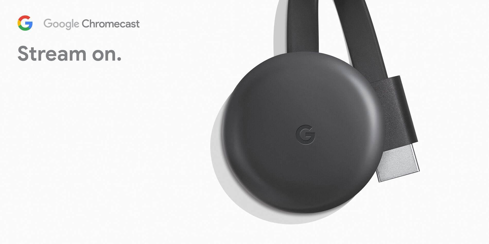 Google Chromecast 3 ( Latest Version )