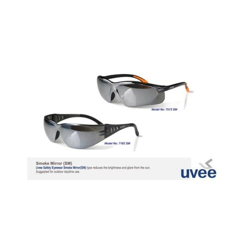 Buy 1 dozen UVEE 7182SM Smike Mirror Safety Eyewear Malaysia