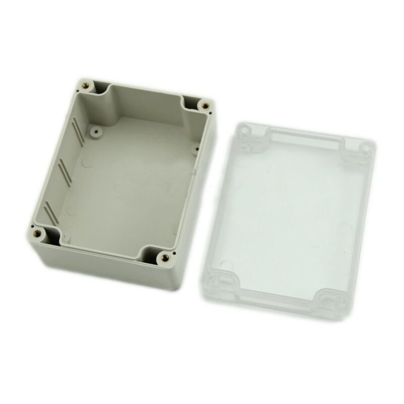 1 PC Waterproof 115x90x55MM Cover Plastic Electronic Project Box Enclosure Case