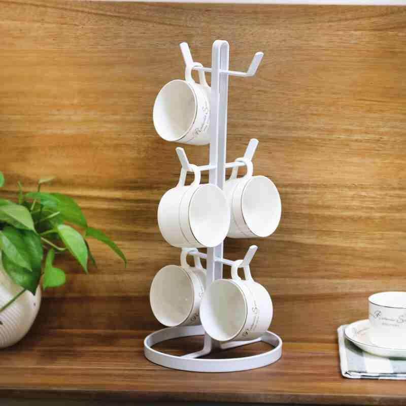 1 Pcs Coffee Mug Tree Stand Organizer Kitchen Storage Tea Cup Holder