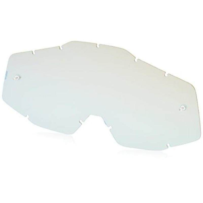 Buy 100% Racecraft Accuri Adult Replacement Lens MotoX Motorcycle Eyewear Accessories - Mirror-Green - One Size Malaysia