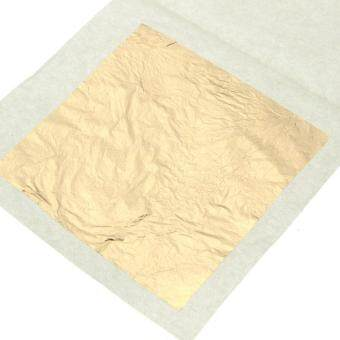 "10PCS 24K Pure Gold Edible Real Leaf Leaves Sheet Gilding 1.57"" 4cm Craft Mask Spa"