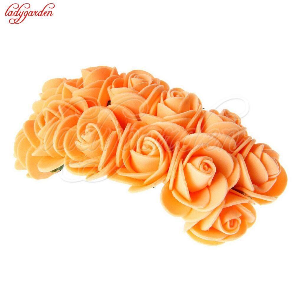 The Best Cheap 12pcs Artificial Flowers 20mm Head Size Decorative
