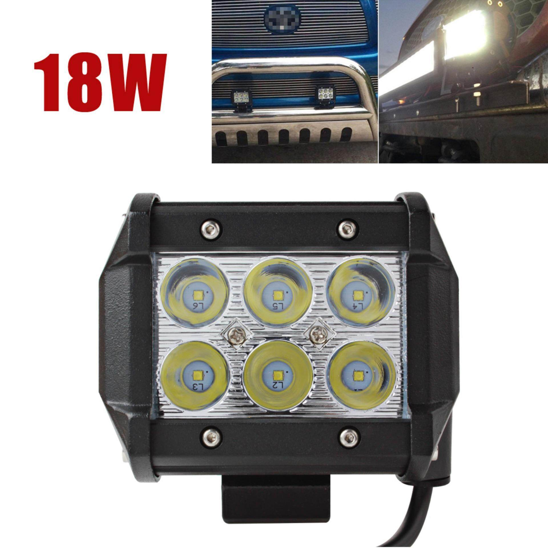 1440lm 18w waterproof led work light for motorcycle spotlight lazada malaysia