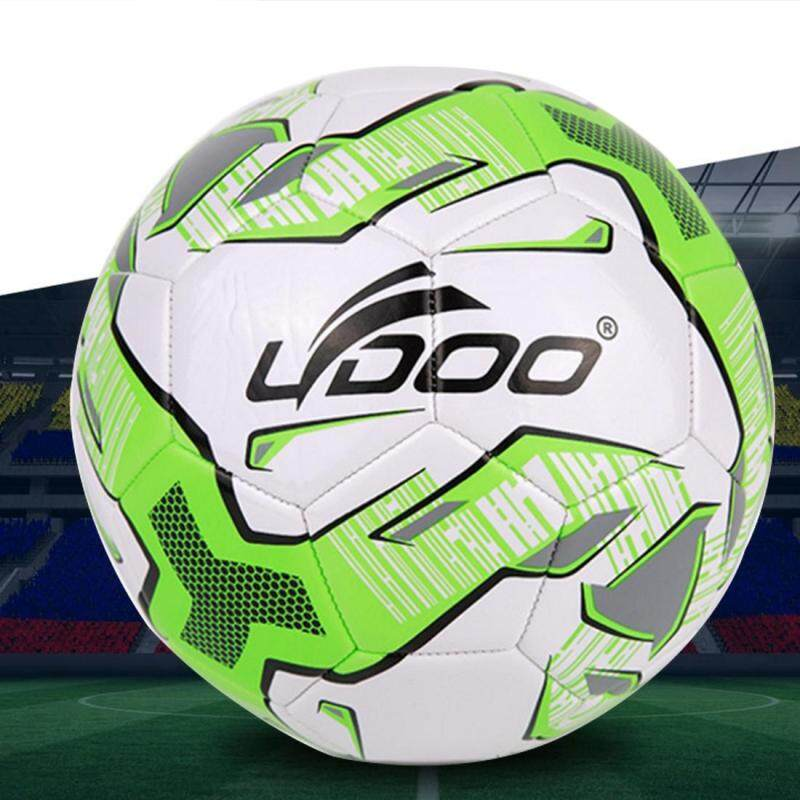 Buy 19cm PU Leather Sewing Wearable Match Football (Fluorescent Green) Malaysia
