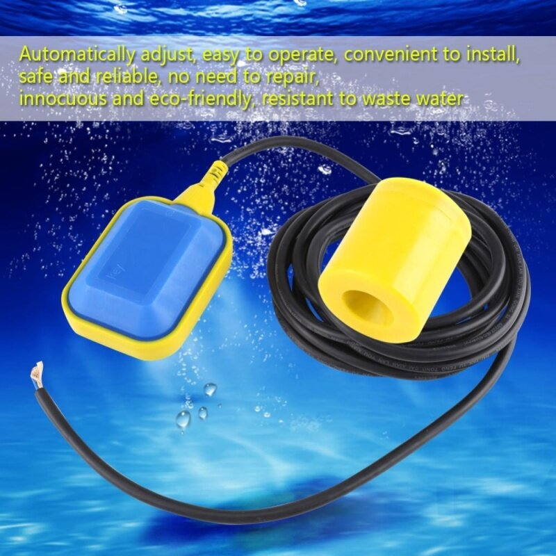 Buy 1pc Cable Type Float Switch Liquid Fluid Water Level Controller Sensor (1.9M Cable) Malaysia