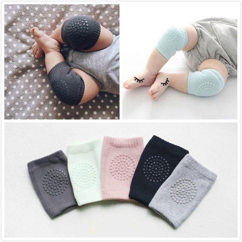 Buy 2* Kid Baby Knee Pads Protector Cotton Infants Safety Crawling Elbow Leg Cushion Malaysia