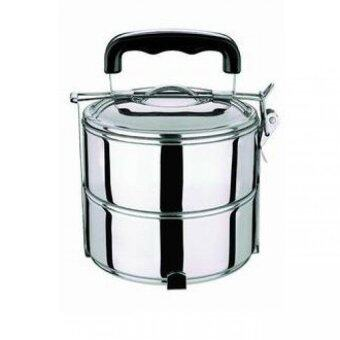 Harga 2 Layer Stainless Steel Lunch box