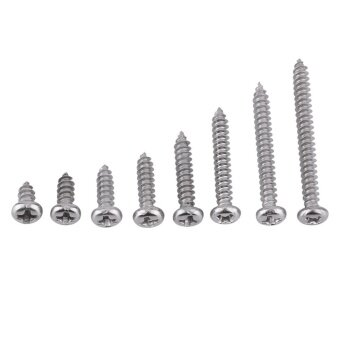 Harga 200pcs 304 M3 Self Tapping Screws for Woodworking (Pan head)